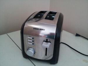Black &decker   toaster