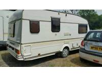 1992 bailey pageant 2 berth caravan with awning