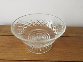 Vintage bowl on pedestal great condition