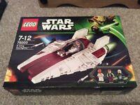 Lego Star Wars A wimg Starfighter 75003 NEW