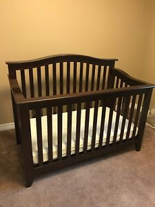 Salerno Forever Crib with mattress