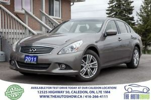 2011 Infiniti G25X Luxury | ACCIDENT FREE