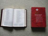 Bible - Life Application Study Bible