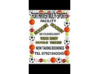 Flood light 3G pitch for rent