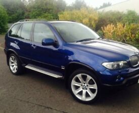 BMW X5 3.0D SPORT LE MANS SPECIAL EDITION FACTORY 20in ALLOYS LEATHER SAT NAV TV M SERIES XDRIVE 4X4