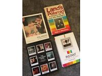 Selection of Books about Polaroid Cameras