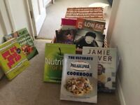 Bundle of cookery books