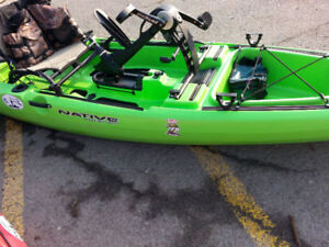 Kayak de pêche Native Slayer 13 Propel