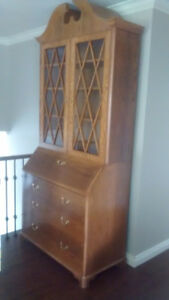 Antique Dresser with Secretary Desk and Hutch - make an offer.