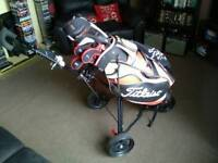 Bargain Full set Titliest Golf clubs
