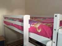 Very good condition White bunk bed