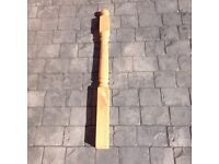 Colonial deck post