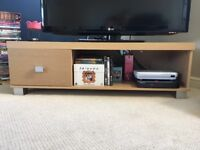Light Oak TV stand and Coffee Table (can be sold seperately)