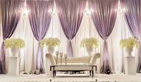 Wedding and event decoration at affordable packages.