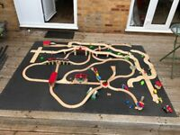 Huge selection of Brio and City Plan wooden rail/road