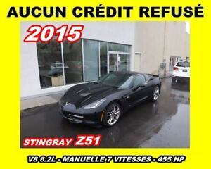 2015 Chevrolet Corvette **Z51**Mags chrome**