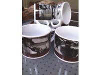 Vintage Cappuccino Set