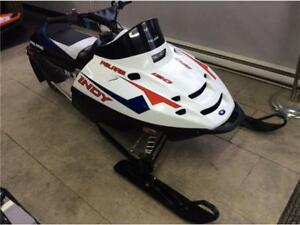 2017 Polaris Indy 120 White Lightning (Youth)