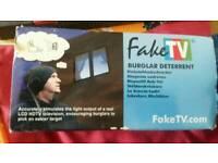 Fake tv alarm
