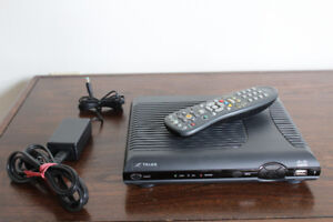 Two Telus High Definition IPTV Set Top Boxes with Remotes