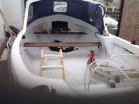 Arran 16ft fishing boat
