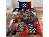 WWE WRESTLING SUPER 7 SINGLE DUVET SET. BRAND NEW
