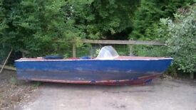 Speed Boat, speedboat, water tight no holes good project, cheap
