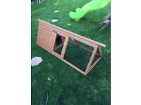 Rabbit guinea pig pet run
