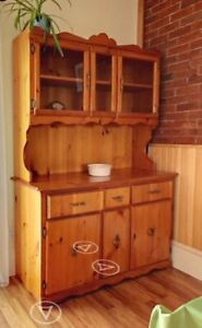 Pine Hutch and other Dressers