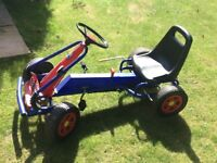 Kettcar childs Go Kart in excellent used condition, suit child age 6+
