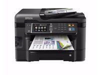 Epson WorkForce WF-3640DTWF Wireless WiFi A4 4-in-1 touch Screen Printer With all Ink + Scanner
