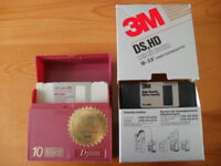 "Floppy Disks 3.5"" high density/double density"