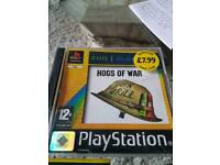 HOGS OF WAR ON PLAYSTATION 1 GAME