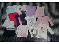 Baby Girl Clothes Bundle 2-3 years old 27 items