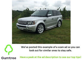 2005 Land Rover Range Rover Sport 2.7 TD V6 HSE -- Read the description before replying to the ad!!