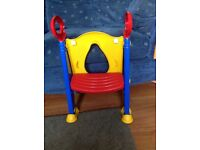 Toddler Toilet Training Seat and Step