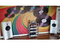 Turntable Hi fi Separates Speakers and audio Cables Wanted