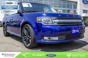 2014 Ford Flex Limited LEATHER NAVI ROOF FORD CERTIFIED
