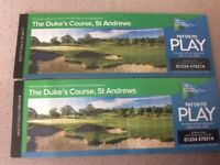 Round of Golf for Two at The DUKES COURSE ST ANDREWS