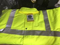 Black Knight Hydra – Flo High visibility jacket Medium. £5