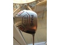 Ping Driver 9 degree Stiff shaft. Excellent condition.