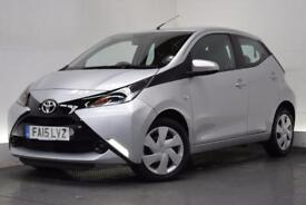 TOYOTA AYGO 1.0 VVT-I X-PLAY [LEATHER] 5d 69 BHP (silver) 2015