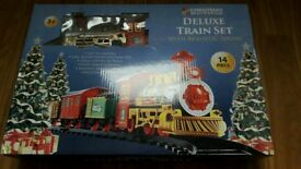 Christmas Train Set with light and sounds