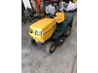 Yard man ride on grass cutter