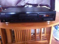 teac hifi compact disc player