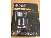 Russell Hobbs coffee machine with timer BOXED