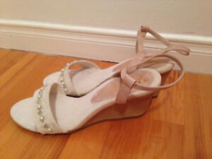 Sandales perlées winners