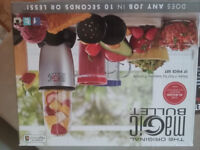 Brand new and boxed Nutribullet. Duplicate gift £40