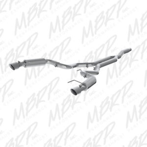 """2015-2017 Ford Mustang Ecoboost 3"""" Cat Back MBRP Race, NEW"""