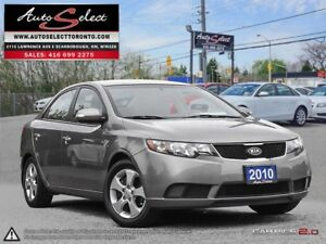 2010 Kia Forte ONLY 85K! **CLEAN CARPROOF** BLUETOOTH *EX MODEL*